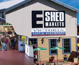 The E Shed Markets - Accommodation BNB